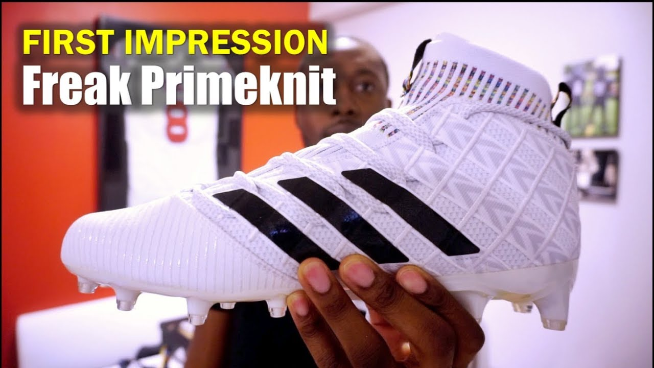 separation shoes fb900 f6543 ADIDAS Freak Primeknit BOOST (AAG) Football Cleats 1st Impression