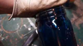 How to Color Tint a Mason Jar