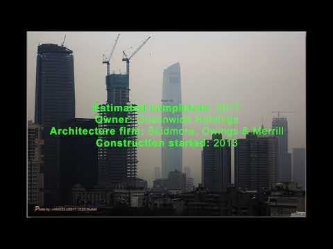 Wuhan Center | Wuhan | 438m 1437ft 88 fl Update! January 2018