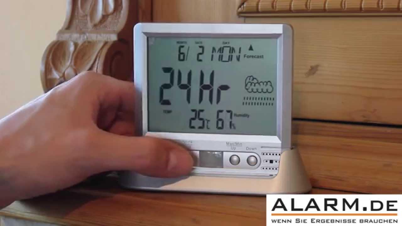 Thermometer / Uhr mit Minikamera zur Überwachung