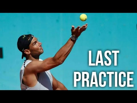 Download Rafael Nadal and Berrettini Full Practice Session at Mutua Madrid Open 2021
