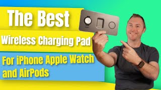 SATECHI Trio Wireless Charging Pad Review for iPhone Apple Watch and AirPods