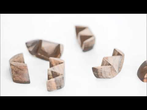 Tennis Ball Wooden Interlock Puzzle Solution