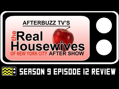 Real Housewives of New York City Season 9 Episode 12 Review & After Show | AfterBuzz TV