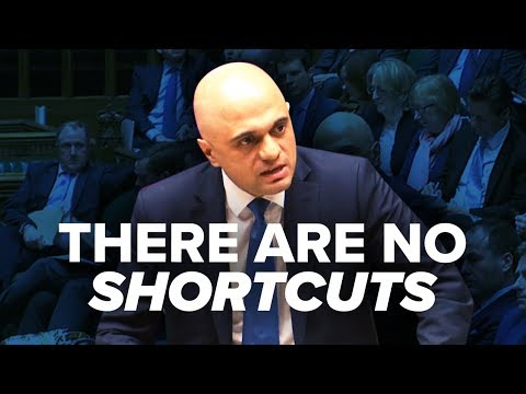 Sajid Javid's powerful speech has the facts on how to stop knife crime