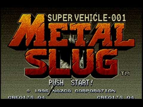 Let's Play Metal Slug On Our Neo Geo X Limited Edition