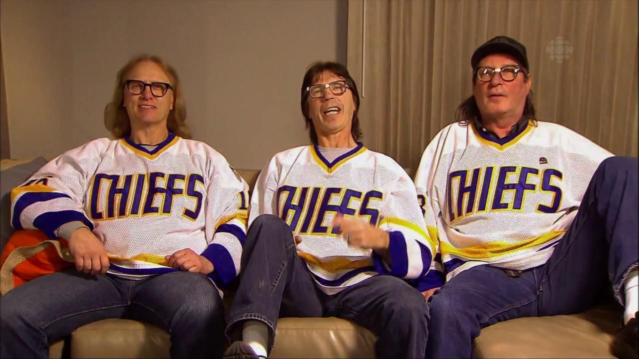 Hanson Brothers on Hockey Night In Canada February 25th