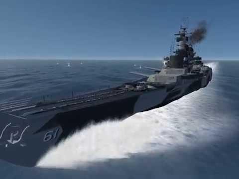 Silent Hunter III : KMS Tirpitz vs USS Iowa
