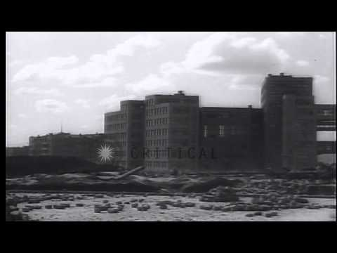 Buildings under construction in Russia. HD Stock Footage