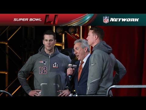 Tom Brady & Matt Ryan Face Off   NFL Network  Super Bowl LI  Night
