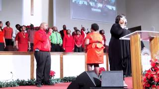 Hoilday Choir Concert - Chrystal Rucker - Changed