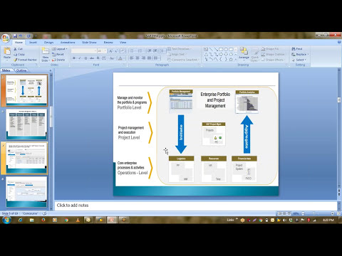 SAP PPM TRAINING (Portfolio & Project Management) online course demo