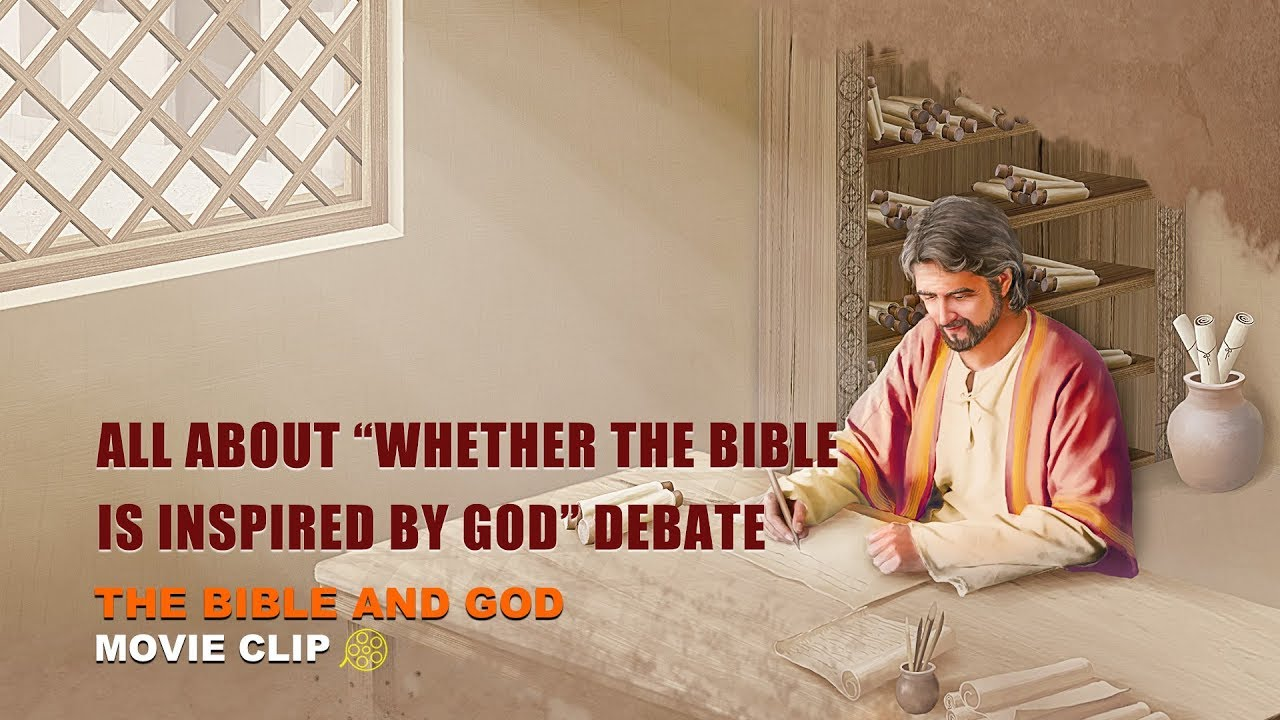 """Gospel Movie Extract 3 From """"The Bible and God"""": All About """"Whether the Bible Is Inspired by God"""" Debate"""