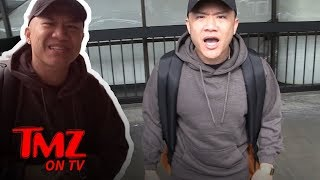 Timothy DeLaGhetto Has The Biggest Backpack Ever | TMZ TV