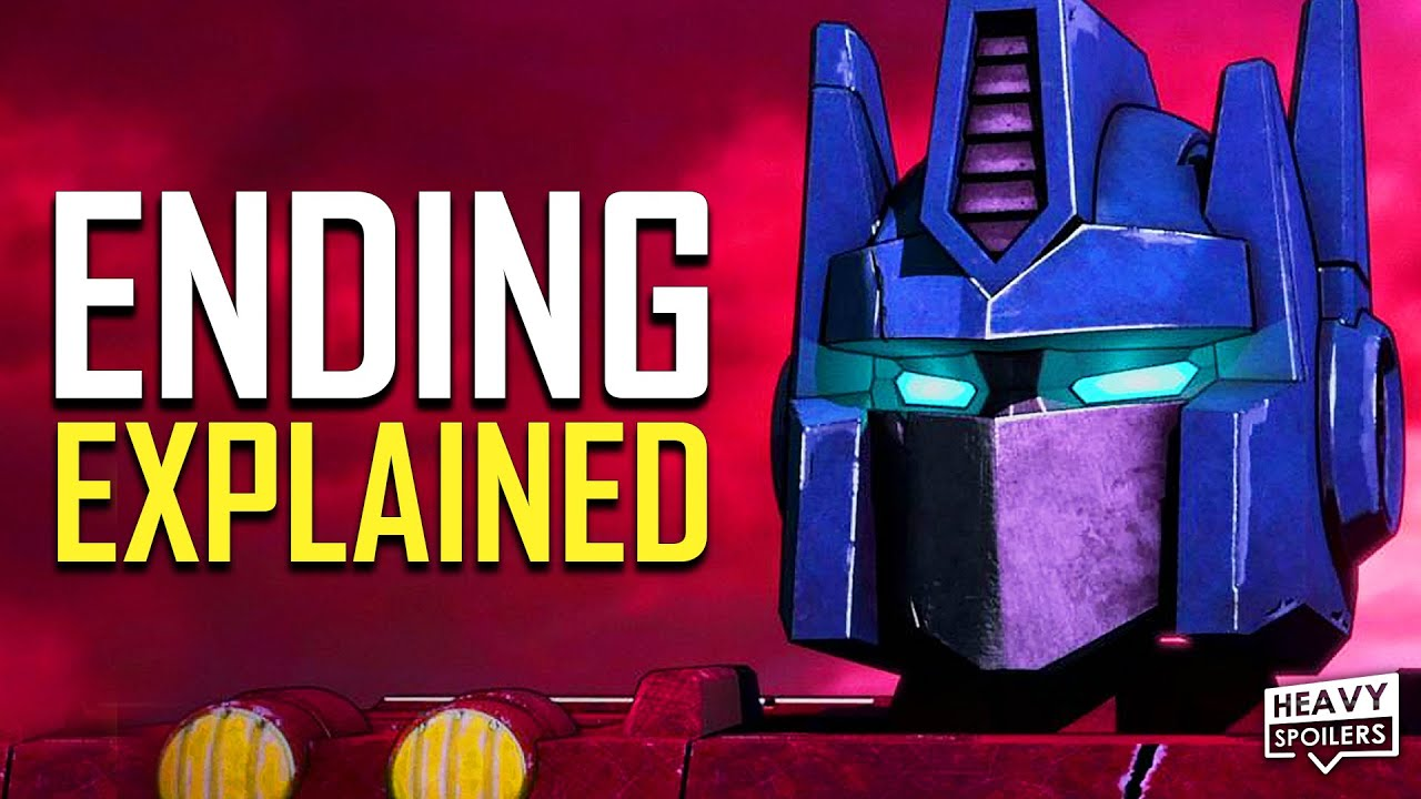 TRANSFORMERS War for Cybertron Trilogy SIEGE Ending Explained + EARTHRISE Post Credits Scene
