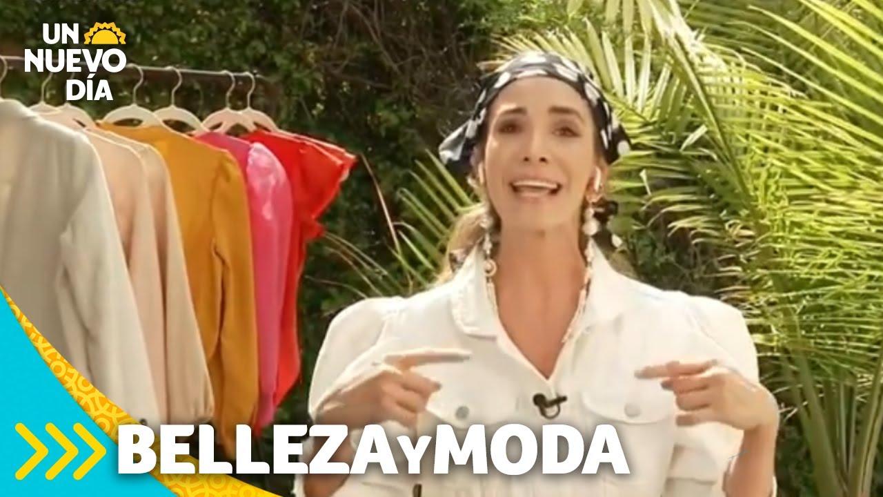 La nueva moda del verano: pañuelos, diademas y grandes aretes   Un Nuevo Día   Telemundo