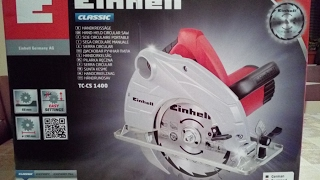 My NEW EINHELL TC-CS 1400 (with little problem)