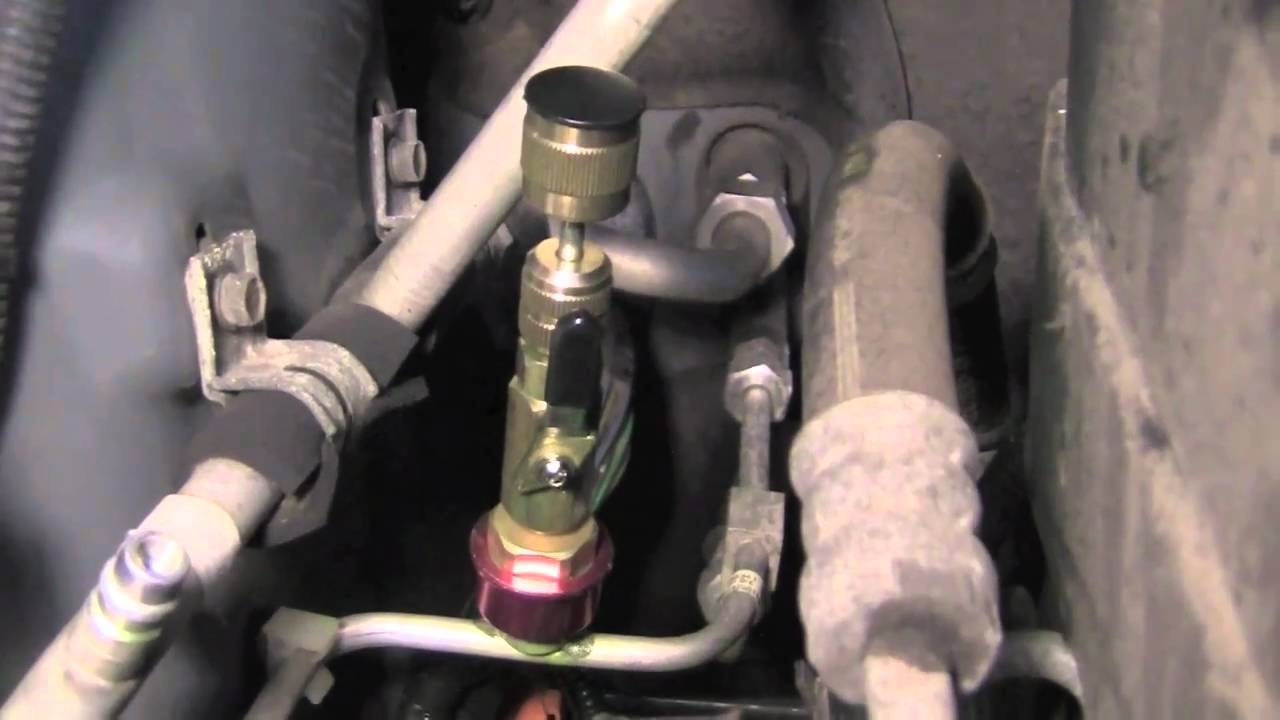 2003 Jeep Liberty Fuel Filter Location Finding And Fixing An A C Leak Youtube
