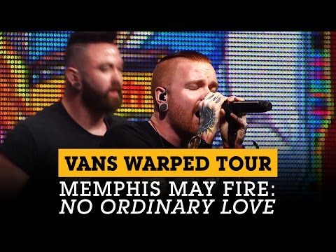 Memphis May Fire performs 'No Ordinary Love' at the Vans Warped Tour Lineup Announcement