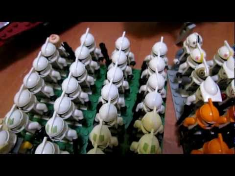 My Lego Star Wars Collection 2012 | Моя коллекция Лего Звёздных Войн 2012