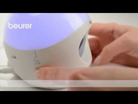 Quick Start Video for the WL 32 wake-up light from Beurer.