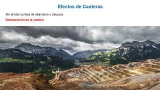 Efectos ambientales de canteras y vertederos. Fase de abandono | 13/16 | UPV