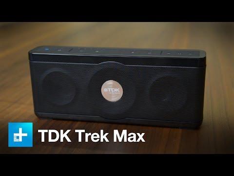 TDK Trek Max outdoor bluetooth speaker - hands on
