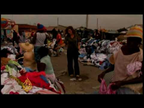 Thriving black markets in Haiti aid