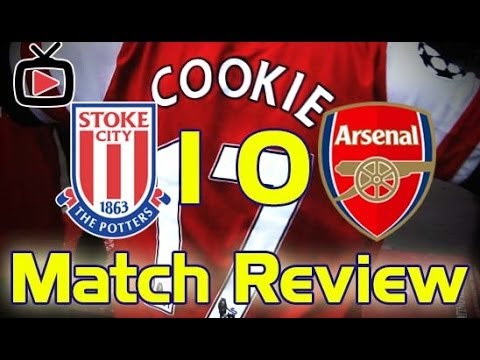 Stoke City v Arsenal 1-0 Match Review - ArsenalFanTV.com