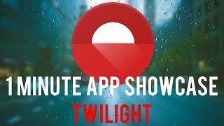 Twilight: Blue Light Filter - 1 Minute App Showcase screenshot 2