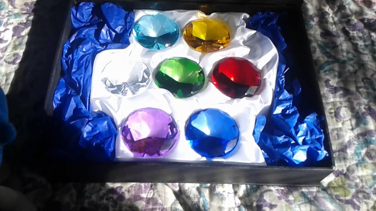 real life chaos emeralds reveal youtube