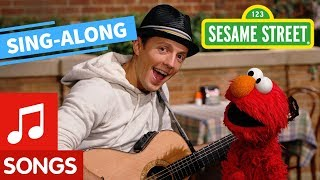 Sesame Street: Outdoors with Elmo and Jason Mraz with Lyrics | Elmo's Sing-Along Series