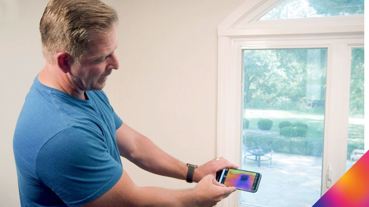 Tracking Down Moisture Issues with Jason Cameron & FLIR ONE!