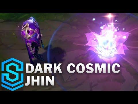 Dark Cosmic Jhin Skin Spotlight - League of Legends