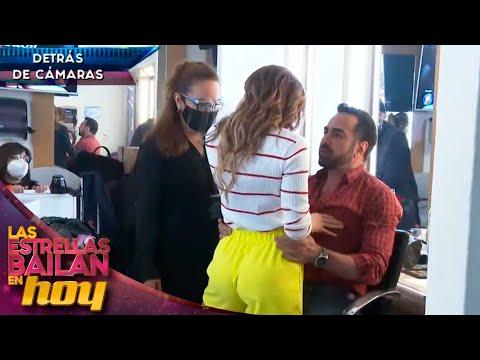 ¿Se cocina nuevo romance entre Andrea Escalona y Ariel Miramontes? 🤭    #LasEstrellasBailanEnHoy