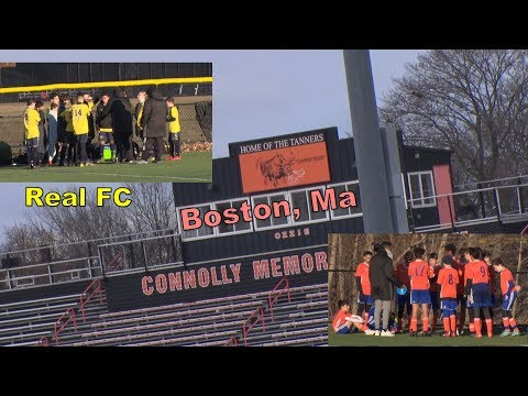 03-23-2019 - Real FC Soccer Team - In Boston Ma. - Full Game - Game Two 5:30 PM