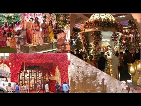 Isha Ambani Wedding GRAND Decoration At Antilla By Father Mukesh Ambani