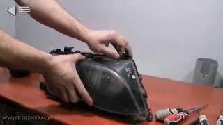 ремонт и реставрация фар bmw 3 e46