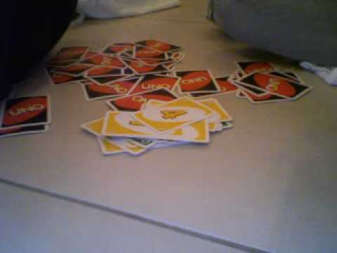 uno! med 10 kort