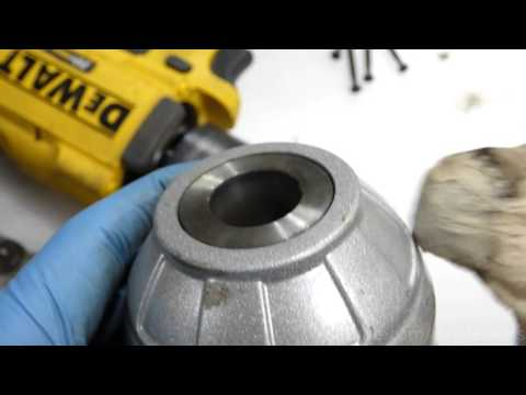 How to change a dewalt impact wrench anvil