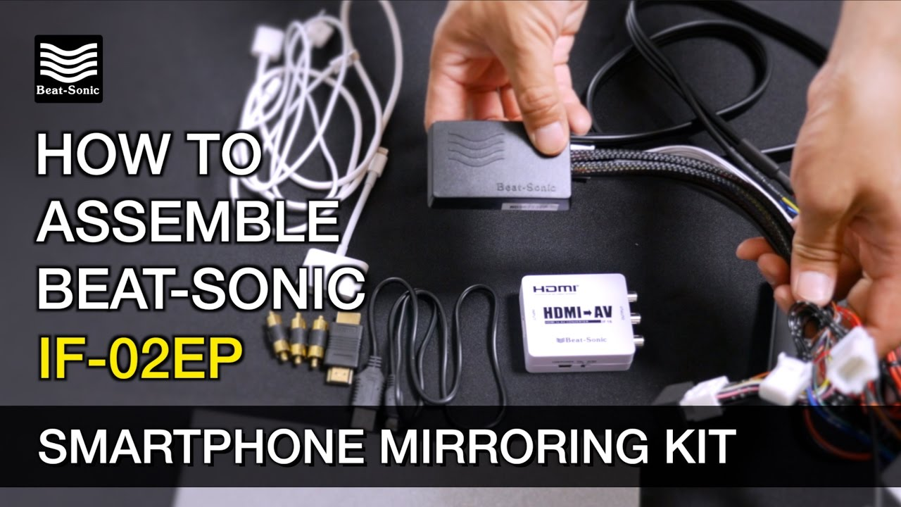 Beat-Sonic IF-02AEP Smartphone Mirroring Kit