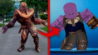 ROBLOX vs Real Life [ Fortnite Dance ]