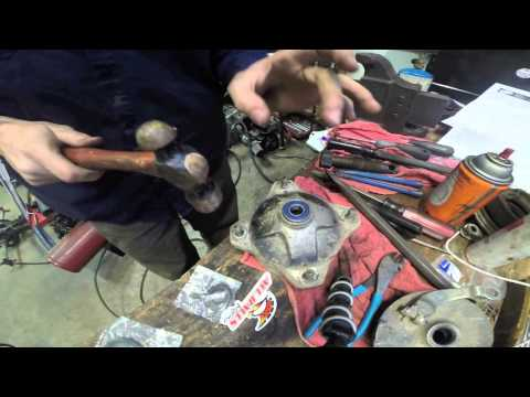 How To Replace Wheel Bearings On A Yamaha Blaster