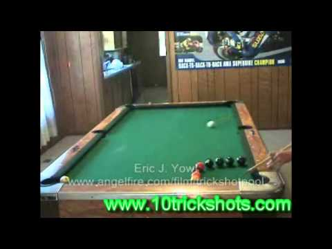 Awesome trick shot on pool and billiard tables youtube - Awesome swimming pool trick shots ...