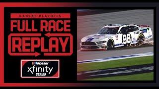 Kansas Lottery 300 from Kansas Speedway | NASCAR Cup Xfinity Full Race Replay
