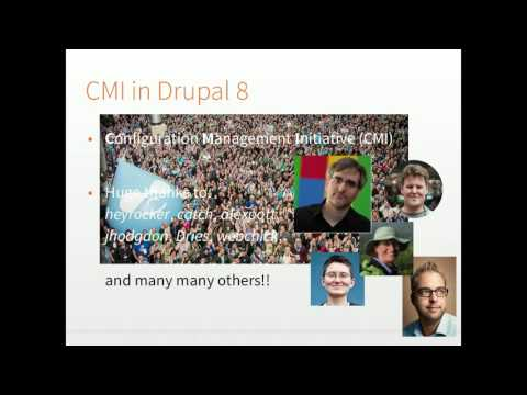 Features for Drupal 8