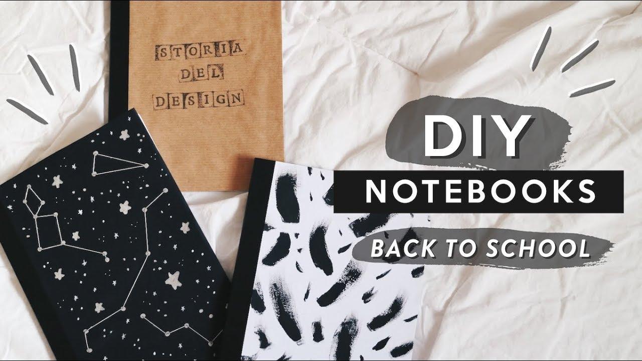 Diy Tumblr Notebooks For Back To School Quaderni Fai Da Te Per La