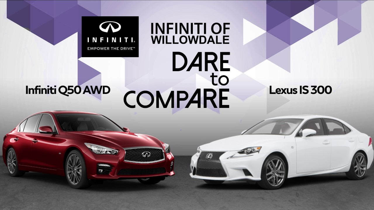 Infiniti Q50 Vs Lexus Is 300