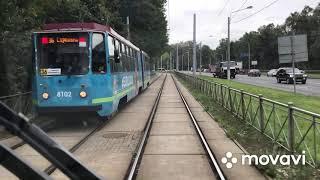 36 маршрут трамвая Санкт-Петербург