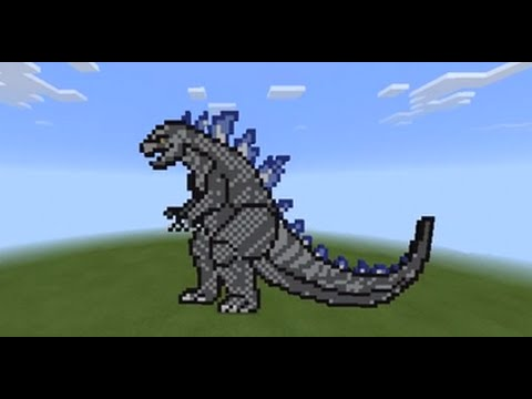 2014 Full Godzilla Pixel Art Part 1 Youtube
